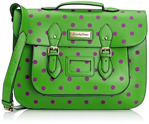SWANKYSWANS Womens Paris Polkadot Satchel SP712PARIS
