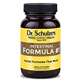Dr. Schulze's Intestinal Formula #1 Colon Bowel Cleanse Laxative Capsules, 90 Count