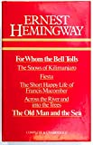 Hemingway Omnibus: For Whom the Bell Tolls; The Snows of Kilimanjaro; Fiesta; The Short Happy Life of Francis Macomber; Across the River and Into the Trees; The Old Man and the Sea Ernest Hemingway