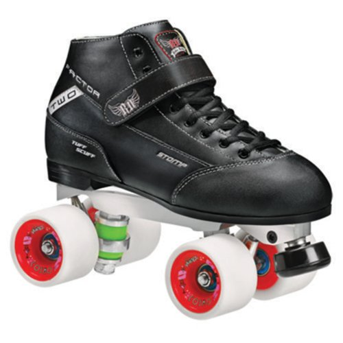 Фото Stomp Factor 2 Cosmo Roller Derby Skates Men Size 4-12 110db loud security alarm siren horn speaker buzzer black red dc 6 16v