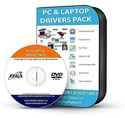 Toshiba Drivers Disc Install Missing Drivers Automatically Wireless, Network, Graphics and much more for Windows XP, Vista, 10, 7, 8 32/64 Bit Computer Laptop PC DVD CD