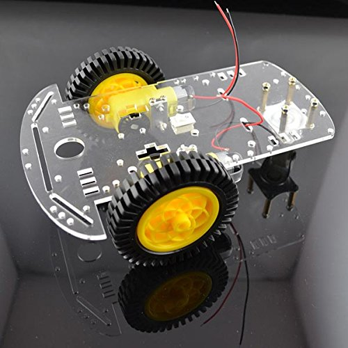 2WD Smart Robot Car Speed Detection Chassis Kits With 20 Grid Encoder For Arduino. (2wd Robot Car compare prices)