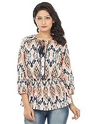 Adhaans Casual 3/4 Sleeve Printed Women's Top