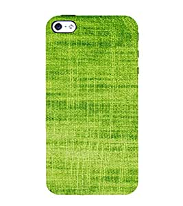 PrintVisa Green Knitted Cloth Design 3D Hard Polycarbonate Designer Back Case Cover for Apple iPhone 4 :: 4S