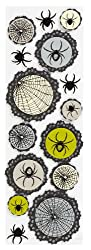 Martha Stewart Crafts Spiderweb Doily Stickers