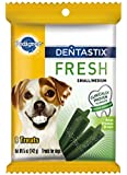 PEDIGREE DENTASTIX Fresh Small/ Medium Treats for Dogs, 5oz Pouch- 9ct. (Pack of 9)