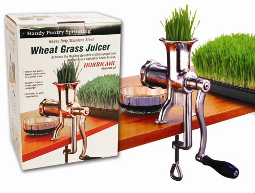 Handy Pantry HJ Hurricane Manual Wheatgrass Juicer