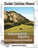 img - for Student Solutions Manual for Intermediate Algebra: Concepts with Applications book / textbook / text book