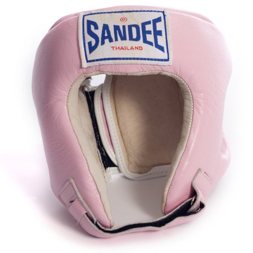 Sandee - Head Guard Closed Face - Pink - Size XL (For Boxing, MMA, UFC, Muay Thai)