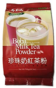 Greenmax - Boba Milk Tea Powder - Black Tea Flavor 245 Oz by Mayushan Foods Co. Ltd.