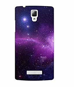 Case Cover Abstract Sky Printed Multicolor Soft Back Cover For Lenovo A2010