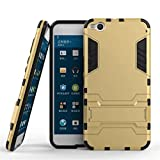 HTC One X9 Hülle, HTC One X9 Cover Hülle, Lifeturt [ Gold