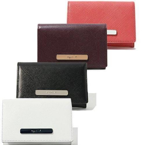 アニエス アニエスベー 名刺入れ カードケース レディース 財布 女性 agnes b. YW11-05 [並行輸入品] (ブラック)