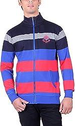 RGT Men's Fleece Regular Fit Sweatshirts (RGT6017MULTI-L)