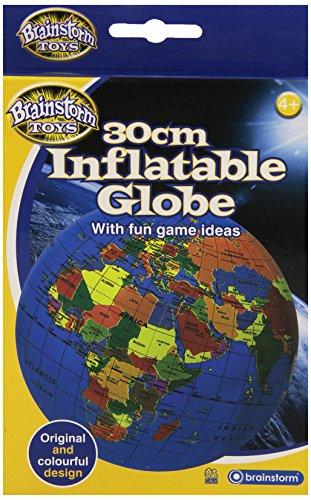 Brainstorm - Globo terráqueo inflable (30 cm) [importado del Reino Unido]