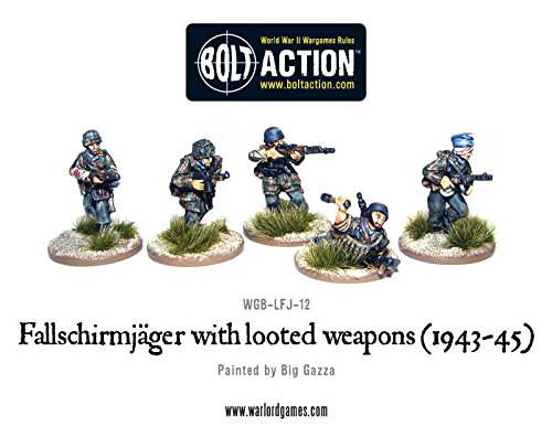 1943-45 Fallschirmjager With Looted Weapons - 1