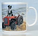 Tractor Trials Border Collie Mug