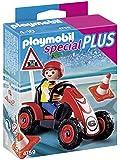 Playmobil - 4759 - Jeu de Construction - Enfant avec Kart