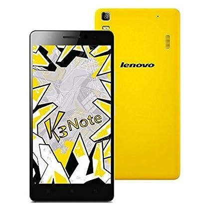 Lenovo K3 Note 2 + 16Go 4G LTE Dual Sim Android 5.0 Lollipop Octa base 1.7GHz 5,5 pouces FHD 5 + 13MP Smartphone jaune