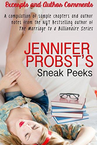 Jennifer Probst - Jennifer Probst's Sneak Peeks (English Edition)