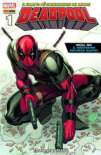 Deadpool 60 nuovissima marvel variant