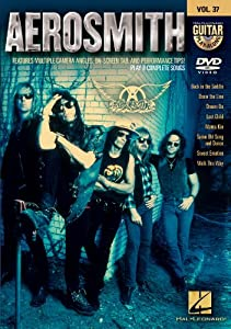 Aerosmith - Guitar Play-Along Dvd Volume 37