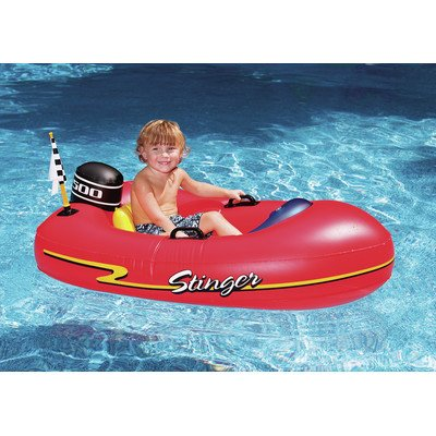 Speedboat Inflatable Ride-On Kiddie 1 Red front-610089