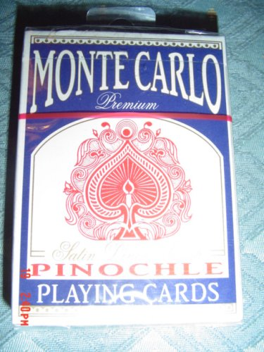 Buy Monte Carlo Premium Satin Linen Finish Pinochle Playing Cards