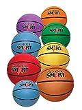 School Smart Gradeballs Rubber Basketball - Junior 27 inch - Red