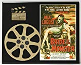THE BRIDE OF THE MONSTER BELA LUGOSI ED WOOD LIMITED EDITION MOVIE REEL DISPLAY