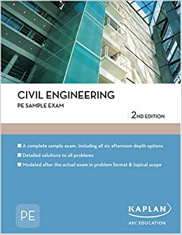 Pe civil sample questions and solutions
