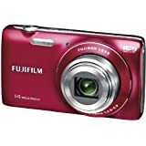 Fujifilm JZ100 Digital Camera - Red (14MP, 8x Optical Zoom) 2.7 inch LCD Screen