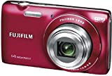 Fujifilm JZ100 Digital Camera - Red (14MP, 8x Optical Zoom) 2.7 inch LCD Screen