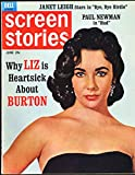 Screen Stories Magazine; June 1963 (Elizabeth Taylor cover & feature)