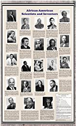 American Educational African-American Scientists and Inventors Historical Poster