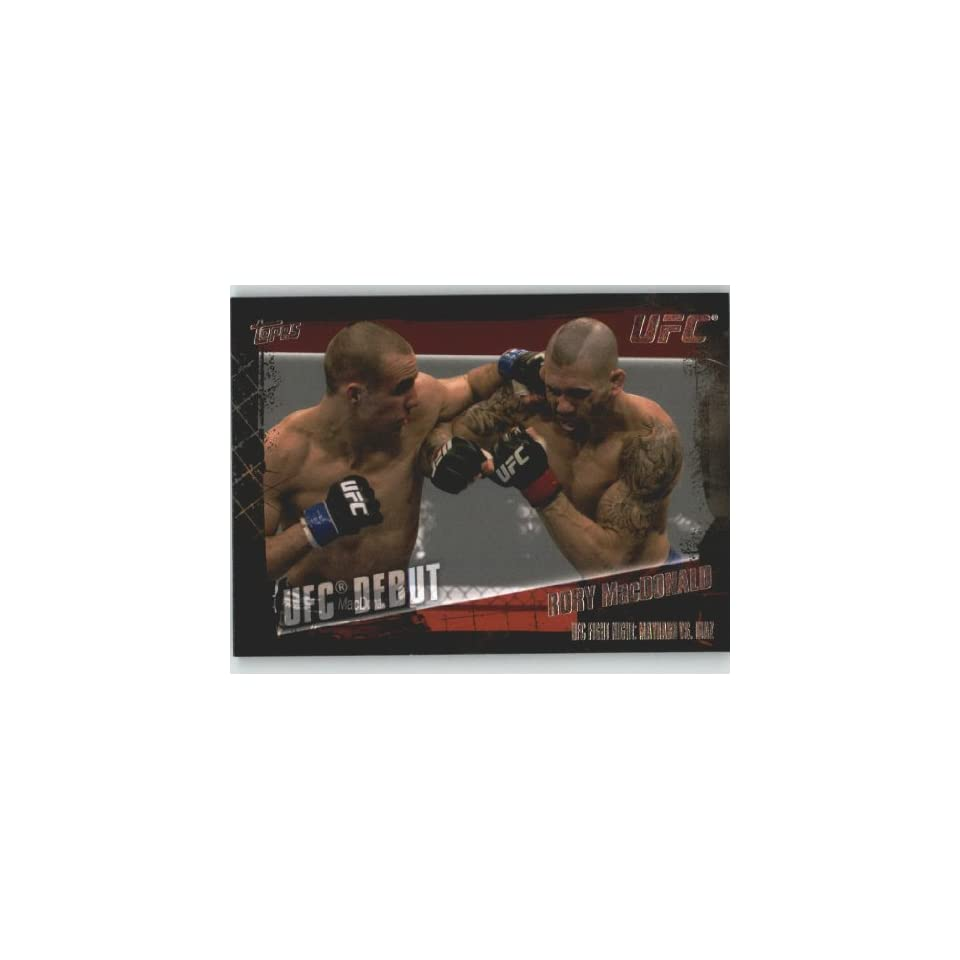 2010 Topps UFC Trading Card # 156 Rory MacDonald (Ultimate
