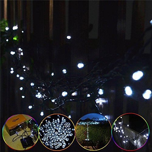 Best Review Of INST Solar Powered 100 LED String Light for Outdoor and Indoor Use (White ...
