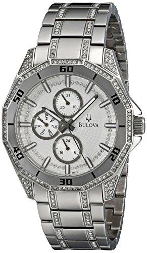Bulova Men'S 96C110 Crystal Multifunction Watch