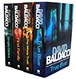 David Baldacci David Baldacci 4 Books Collection Set (True Blue, The Whole Truth, First Family (King & Maxwell 4), Simple Genius (King & Maxwell 3))