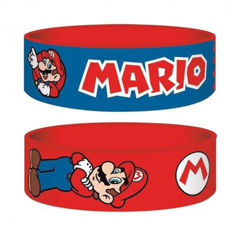 Nintendo - Super Mario - braccialetto per collezionisti - 24 x 65 x 1 mm elastico