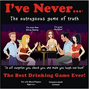 I've Never an Outrageous Game of Truth: Party Board Game