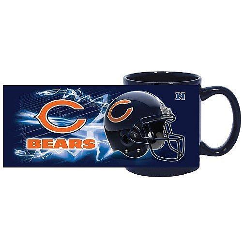 Nfl Chicago Bears 11 Oz. Colored Logo Coffee Mug