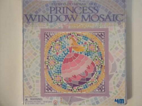 Easy-To-Do Mosaic Art: Princess Window Mosaic