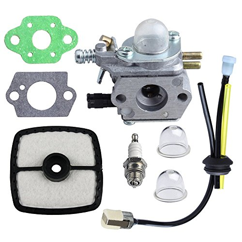 HIPA C1U-K52 Carburetor with Repower Kit for ECHO GT200EZR GT2000R PAS2000 PAS2100 PE-2000 PP1200 PP800 PPF2100 PPF2110 PPSR2122 PPT2100 Power Pruner Trimmer (Echo Gas Pole Saw compare prices)