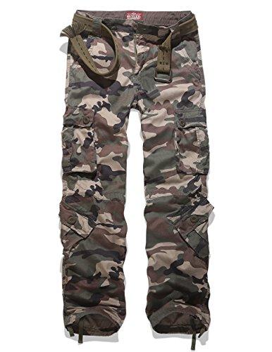 Match Men's Woodland Military Cargo Pants(W36