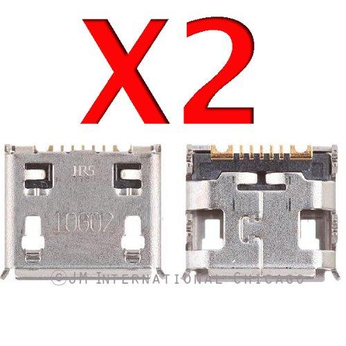 Epartsolution-2 X Samsung Galaxy S Ii Skyrocket Sgh-I727 Charging Port Dock Connector Usb Port Repair Part Usa Seller front-584740