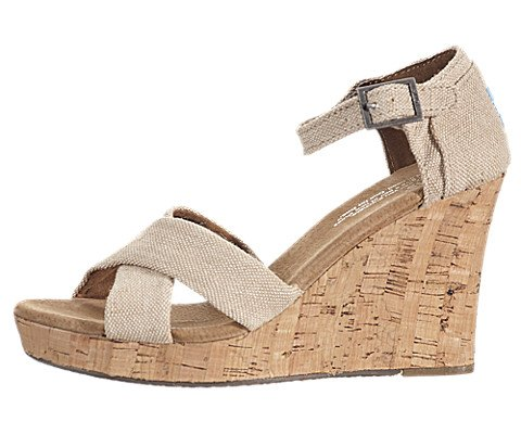 TOMS Mixed Rope Women's Strappy Wedge