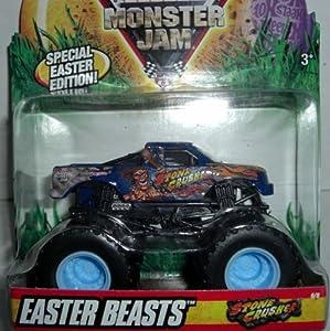 Hot Wheels Monster Jam Easter ed STONE CRUSHER