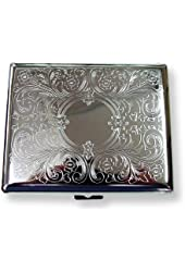 Etched Cigarette Case (For King Sized & 100's
