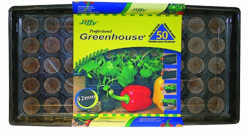 Plantation Jiffy 5718 Professional Greenhouse 50-Plant Starter Kit
